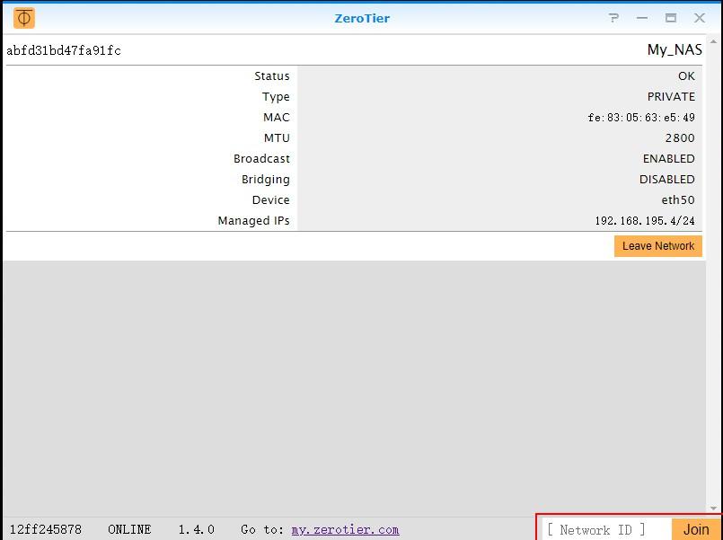 用群晖套件+Zerotier实现内网穿透-极云坊